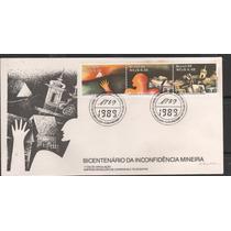Fdc 467 - Bicentenário Da Inconfidência Mineira - 1989