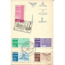 Brasilia 1960 Jk História Inaug. Palácio Alvorada Folh. Ilus