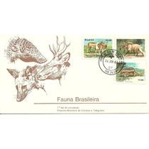 Fdc-255 1982 Fauna Brasileira 1ºdia São Paulo-sp