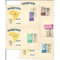 Brasilia 1960 Jk História Inauguração Palácio Alvorada 5folh