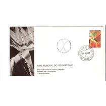 Lindo Envelope Rhm Fdc-115 - Ano Mundial - Vejam A Foto !!!