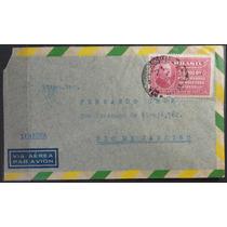 Brasil 1939 Envelope Circulado Comemorativo C-142 Isolado