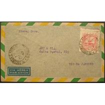 8684 Brasil Aéreo História Postal Envelope Circulado Em 1943
