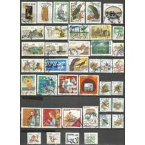 121 Sls- Brasil- Lote Com 40 Selo Postal 1976 78 79 80 91 91