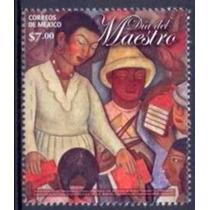 Selo México,dia Do Professor 2012,mint.ver Descrição.