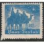 Lote - 9546 - Brasil - Etiqueta .de Natal - Azul