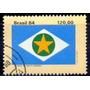 Selo Brasil, Bandeiras Estados Iv,mato Grosso 1984,usado.