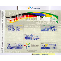 B-6707 - 2013 - Bloco Brasil - Alemanha - 2013