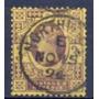 Selo Grã Bretanha,cinq.reinado Vitoriano 1887/1900,u. Descr.