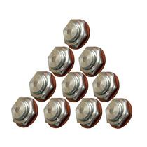Válvula Selo De Segurança Rochedão Panela De Pressão 10peças