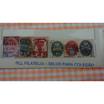 Bela Cartela Selos Antigos R$ 30,00 + Frete