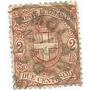 Selo Itália,armas Casa De Savóia,2c 1891/97,usado.ver Descr.