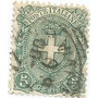 Selo Itália,armas Casa De Savóia,5c Tp C 1891/97.ver Descr.