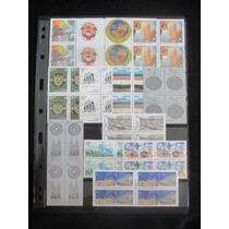 Ano Completo De 2012 Em Quadras Mint (13 Quadras)