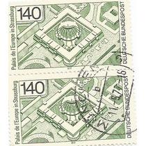 Selo Alemanha,par Palácios Da Europa 1975,usado.ver Descr.