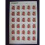 Frutas - Maça Em Folha De 30 Selos 1998