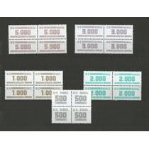Cifras Em Quadras - Serie Completo - Todas Mint - 633/643