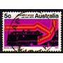 Col 12735 Austrália 401 Locomotiva Trens Estrada De Ferro U