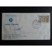 150º Diário Porto Alegre-envelope Comem- Brasil/1977 (ref.7)