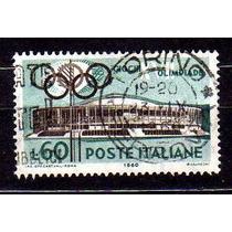 Itália 1960 * Olimpíadas .de Roma * Palácio .dos Esportes
