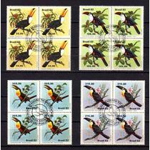 Brasil 1983 * Série Quadras Ccb * Fauna Brasileira * Tucanos