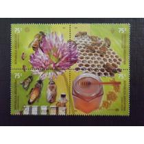 Fauna Abelhas - Serie Com 4 Selos