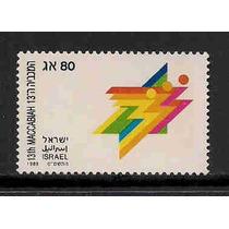 Jmarsch Selos Israel 1989 Esportes Macabiade 89 Judaica