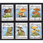 Nicaragua 1990 * Selos Aéreos * Cogumelos Comestíveis