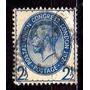 Inglaterra 1929 * Rei George V * 2¹/²p .azul * Upu 9º Congr