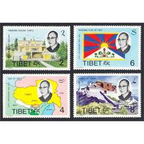 Selos Do Tibet Dalai Lama Governo Tibetano No Exílio Raros!!
