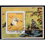 Selos Ajman 1971 Fauna Passaros Aves Exoticas Preservação