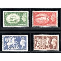 Inglaterra 1951 * Rei George Vl* Símb Realeza Britânica Mint