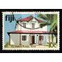Ilhas Fiji 1979 * Prédio Secretaria .de Turismo * Suva
