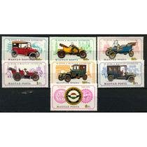 Ms2425 - Hungria - Selos Com Tema: Carros Antigos