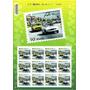 Selos Comemorativos 50 Anos Puma Veículos - Cartela