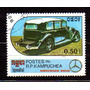 Kampuchea / Camboja 1986 * Mercedes Benz 1935 Sedã