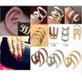 Ear Cuff E Anel Falange 2 Em 1- Novidade!! Use Como Quizer!!
