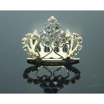 Tiara Coroa Pente Princesa/ Noivas/festa Strass Debutantes