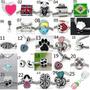 12 Peças - Berloque - Pingentes Para Pulseira Life - Pandora