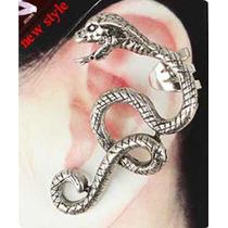 Brinco Ear Cuff Cobra Importado Pronta Entrega Brasil