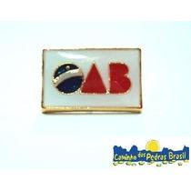 Símbolo Advocacia-direito/ Botom Folheado Á Ouro/oab/balança