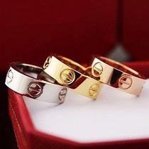 Anel Cartier Modelo Love