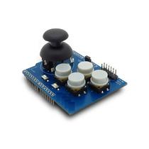 Arduino Shield Joystick E 4 Botões Para Mega E Uno (1059)