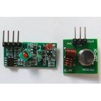 Modulo Rf 433mhz - Transmissor + Receptor P/ Controle Remot