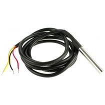5x Sensor De Temperatura Ds18b20 À Prova Dágua - Arduino