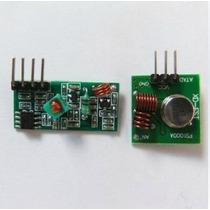 Modulo Rf 433mhz -transmissor + Receptor Arduino Wireless