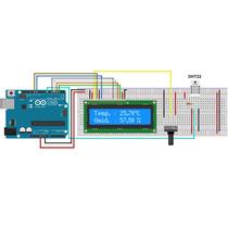 Sensor De Temperatura E Umidade Dht11 - Arduino