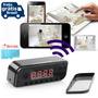 Relógio Espião Wi-fi C/câmera Ip Acesso No Celular Ou Pc +sd