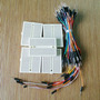 65 Jumper Wire Cables + 1 Mini Protoboard 170 Pontos Arduino