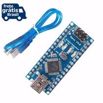 Dccduino Arduino Nano V3.0 Atmega328 + Cabo Usb